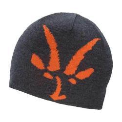 Men's Ibex Knit Logo Beanie Pewter Heather