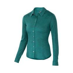 Women's Ibex OD Trinity Shirt Juniper Heather