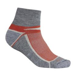 Ibex Quarter Crew Sock - Set of 2 Blood Orange