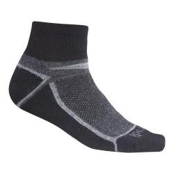 Ibex Quarter Crew Sock - Set of 2 Stone Grey Heather