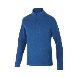 Men's Ibex Scout Jura 1/2 Zip Dark Blueprint Heather