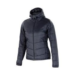 Women's Ibex Wool Aire Hoody Black