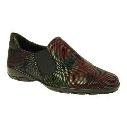 Women's VANELi Anemone Slip-On Multi Black Floral Lizard Print