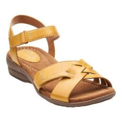 Women's Clarks Reid Laguna Honey Leather