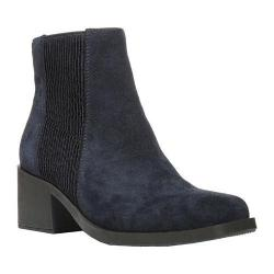 Women's Naya Gang Ankle Boot Dress Blues Velour Suede