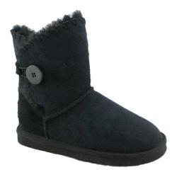 Women's Lamo Snowmass Suede 8in Boot Black