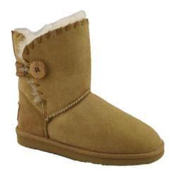 Women's Lamo Snowmass Suede 8in Boot Chestnut
