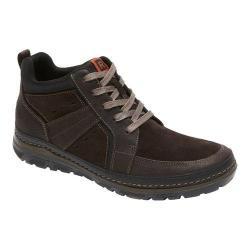 Men's Rockport Activflex Rocsports Lite Boot Dark Bitter Chocolate Leather