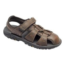 Men's Rockport Coastal Creek Fisherman Sandal Coach Brown Leather/Synthetic