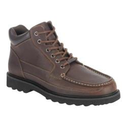 Men's Rockport Dougland Chocolate Leather