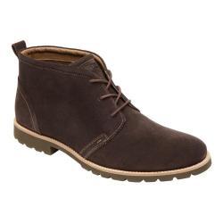 Men's Rockport Sharp & Ready Charson Boot Dark Chocolate Suede