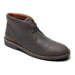 Men's Rockport Trend Worthy Cap Toe Chukka Castlerock Grey Leather
