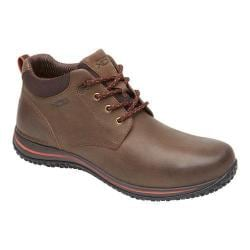 Men's Rockport Walk360 Walking Mid Boot Bark/Cherry Tomato