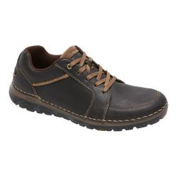 Men's Rockport Zonecush Rocsport Lt L2T Lace Up Bitter Chocolate Tumbled Leather