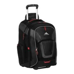 High Sierra AT7 Wheeled Computer Backpack Black