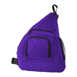 Mercury Dark Purple Luggage Sling Backpacks