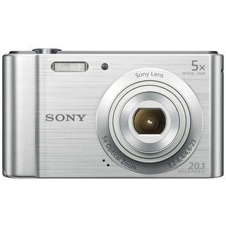 Sony Cyber-shot DSC-W800 20MP Silver Digital Camera