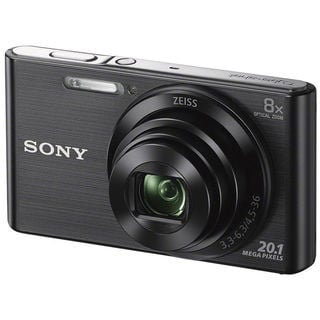 Sony DSC-W830 20MP Black Digital Camera