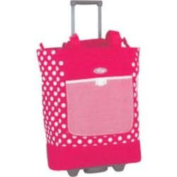 Women's Sports Plus Rolling Shopper Tote RS-100 Pink