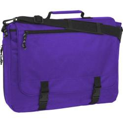 Mercury Luggage Book Bag Dark Purple