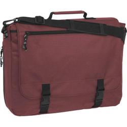 Mercury Luggage Book Bag Maroon