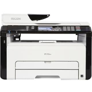 Ricoh SP 213SNw Laser Multifunction Printer - Monochrome - Plain Pape