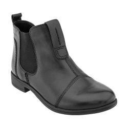 Women's Earth Dorset Chelsea Boot Black Calf Leather