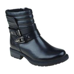 Women's Earth Pepperidge Ankle Boot Black Calf Leather