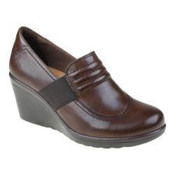 Women's Earth Starling Slip On Wedge Bark Calf Leather