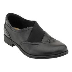 Women's Earth Stratton Slip On Shoe Black Calf Leather