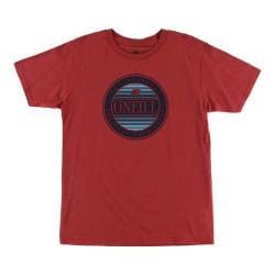 Men's O'Neill Discus Tee Cardinal Red