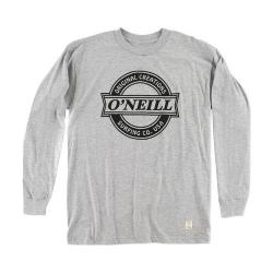 Men's O'Neill Downtown Long Sleeve Tee Medium Heather Grey
