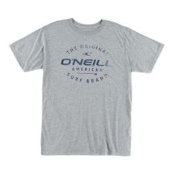 Men's O'Neill Drive Thru Tee Medium Heather Grey