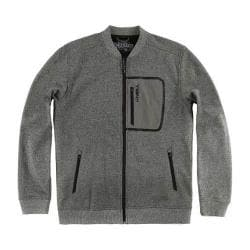 Men's O'Neill Hyperbond Bomber Fleece Jacket Charcoal