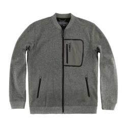Men's O'Neill Hyperbond Bomber Fleece Jacket Charcoal