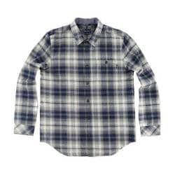 Men's O'Neill Kingsbay Flannel Shirt Navy