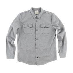 Men's O'Neill O'Riginals Union Long Sleeve Shirt Heather Grey
