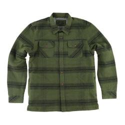 Men's O'Neill Pines Sherpa Flannel Shirt Rifle Green