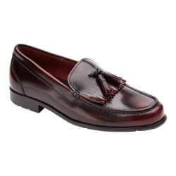Men's Rockport Classic Tassle Loafer Burgundy Brush Off Leather