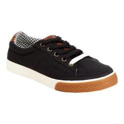 Boys' Hanna Andersson Seva Sneaker Soft Black Canvas/PU Suede