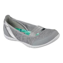 Women's Skechers Atomic Magnetize Flat Gray
