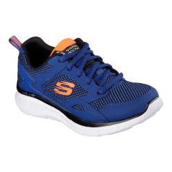 Boys' Skechers Equalizer Game Point Sneaker Royal/Orange