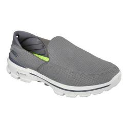 Men's Skechers GOwalk 3 Unfold Slip On Gray