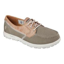 Men's Skechers On the GO Atlantic Boat Shoe Khaki