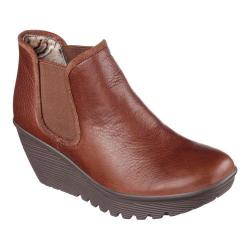 Women's Skechers Parallel Double Great Ankle Boot Brown