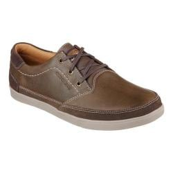 Men's Skechers Relaxed Fit Cardova Sorito Boat Shoe Dark Brown
