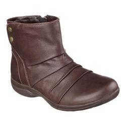 Women's Skechers Relaxed Fit Natty Ankle Boot Chocolate