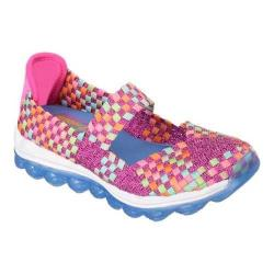Girls' Skechers Skech-Air Glitzy Fitz Neon/Pink/Multi