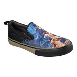 Men's Skechers Star Wars The Menace A New Hope Slip On Black/Royal