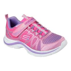 Girls' Skechers Swift Kicks Color Spark Sneaker Pink/Lavender